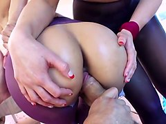 Purple pantyhose sexy whores well fucked