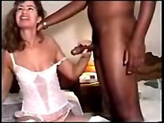 husband watches masturbating wife