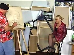 Blonde German Mature Vera!