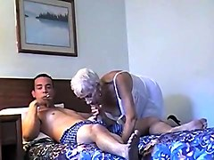 granny caught masturbate