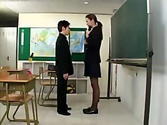 Tall Japanese girl with short Japanese guy