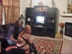 Cuckold husband films redhead wife with bbc