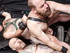 Daddy Cub, Steve Sommers, and Daddy Lucas - Part 2 - BearFilms
