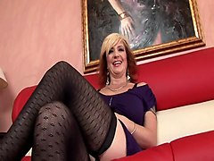 Hot mature brittany blaze wet pussy on high heels hd