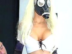 fetish gas mask girl