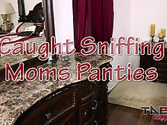 Punishment for Sniffing Step Moms Pantys: Make Mom Cum