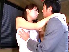 Hottest Japanese whore Kaede Imamura in Crazy MILFs, Small Tits JAV clip