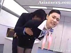 Asiatique Stewardess