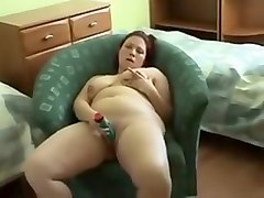 Amazing Homemade video with BBW, Solo scenes