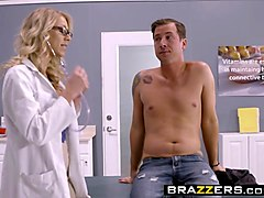 brazzers - doctor adventures - my stepmoms physical scene starring katie morgan and jessy jones