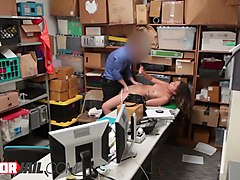 naughty shoplifter teen shane blair is getting fucked really hard because of shoplifting
