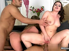 Hottest pornstars Alessandra Jane, Lexie Candy in Best Big Tits, Group sex xxx video