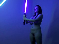 Naked on Stage 42 Naked Star Wars