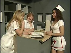 Hot Nurse Gang Bang