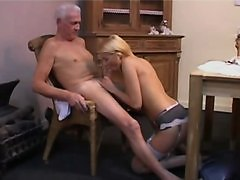 Hot Nurse With Old Guy