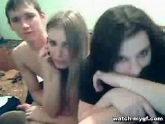 Group Of Teens On Cam