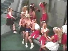 Cheerleaders Orgy