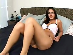 Brunette Interracial Fuck