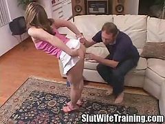 Tiffany Slut Wife Final Exam