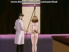 Tied Up Anime Girl Humiliated In Public