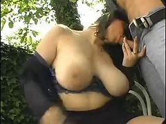 Sunglasses, Big Tits And A Hot Milf Fuck