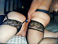 Cd Fucked By Girlfriend And Her Huge Strap-on