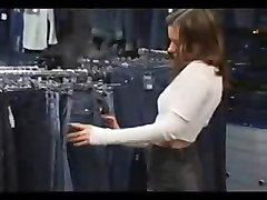 Costumer Got Fucked In Jeans Store By Snahbrandy