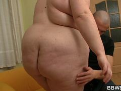 He Loves Drilling Her Huge Fat Pussy